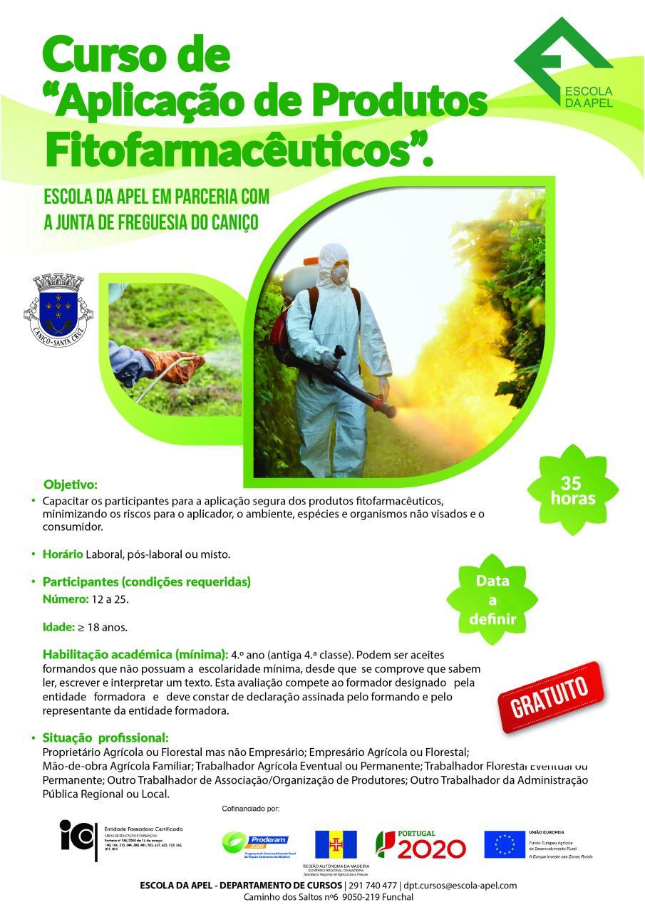 Curso de Aplicação de Produtos Fitofarmacêuticos