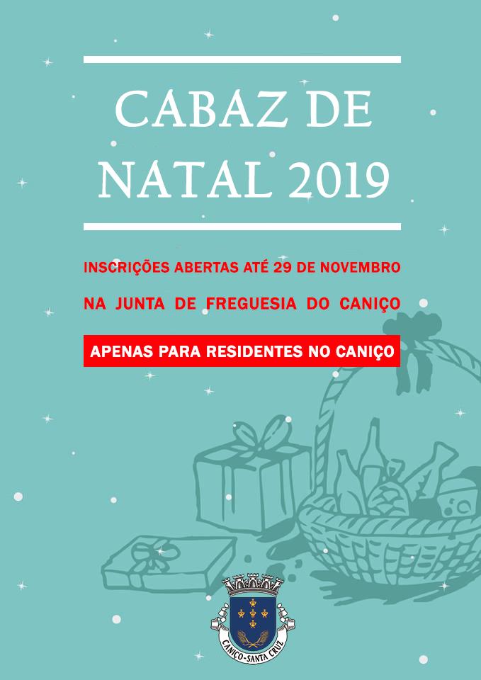 Cabazes de Natal 2019