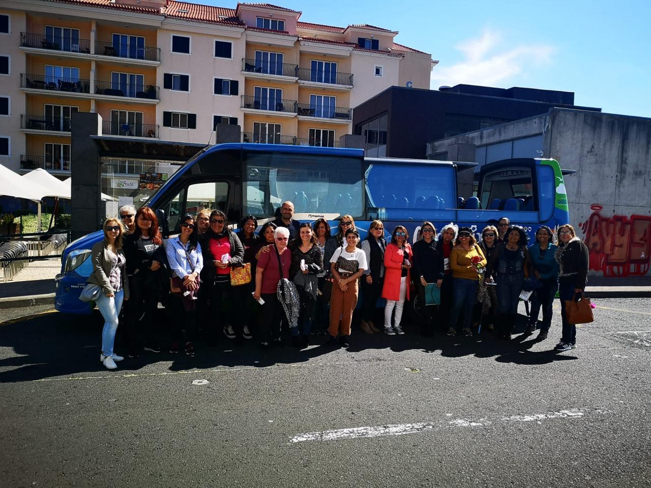 Dia Internacional da Mulher - Passeio com as voluntárias do CASA - Caniço
