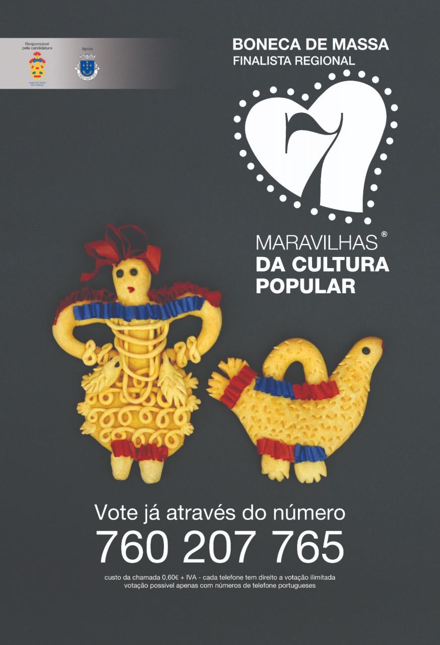 Votação nas Bonecas de Massa