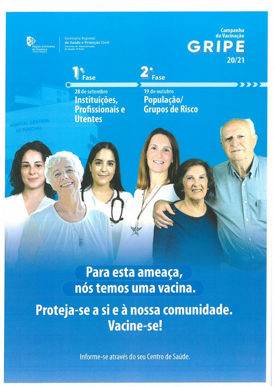Campanha de Vacinação contra a Gripe - 2020/2021