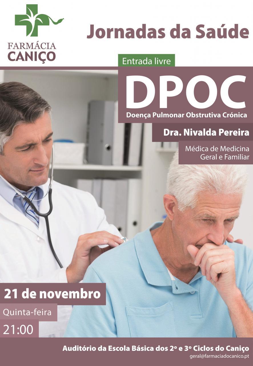Jornadas da Saúde Farmácia do Caniço - Doença Pulmonar Obstrutiva Crónica