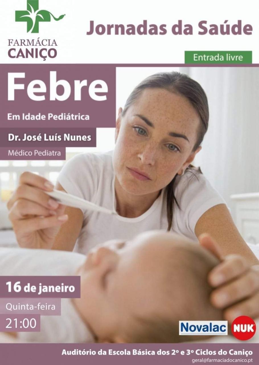"""""""Febre em Idade pediatrica"""" - Jornadas da Saúde"""